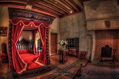 Clos Luc - Leonardo Da Vinci Bedroom (DinaristyaPhotoProjects) Tags: architecture canon photography fisheye tokina historical hdr hdrphotography
