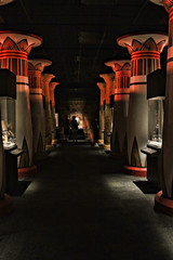 Hall of Ancient Egypt (Trudy -) Tags: history museum cool ancient texas natural columns egypt houston exhibit