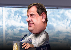 Chris Christie - Caricature (DonkeyHotey) Tags: art face photomanipulation photoshop photo newjersey election political politics cartoon manipulation governor convention caricature republican campaign gop rnc commentary politicalart 2016 politicalcommentary chrischristie donkeyhotey christopherjameschristie