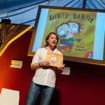 David Roberts celebrates ten years of Dirty Bertie