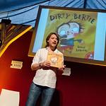 David Roberts celebrates ten years of Dirty Bertie