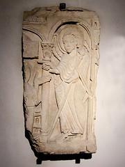 Medieval Sculpted Relief, in the Musee de la Histoire de Lyon (7) (Phil Masters) Tags: sculpture plaque lyon relief reliefs medievalsculpture 3rdmay may2013 museedelahistoiredelyon