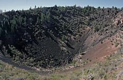 Mammoth Crater (Ron Wolf) Tags: california volcano nationalpark crater geology volcanic eruption basalt lavabedsnationalmonument geomorphology petrology earthscience pleistocene cenozoic quaternary medicinelakevolcano