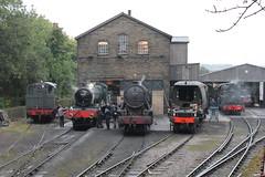 Haworth (DaveWilcock) Tags: city yard wells steam vulcan manor gala haworth kwvr erlestoke