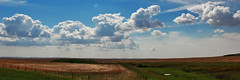 Shapes In The Clouds (Explore # 12 October 15th 2013) (LostMyHeadache: Absolutely Free *) Tags: trees summer sky panorama nature water grass clouds canon fence landscape fire spring dragon shapes explore fields prairie bushes davidsmith shapesintheclouds explored calgaryalbertacanada eos60d