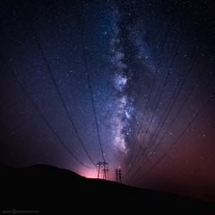 e l e c t r i c (Silent G Photography) Tags: longexposure stars wideangle galaxy adobe astrophotography nik nightsky nikkor slo sanluisobispo turri milkyway turriroad 2013 1424 nikond800 markgvazdinskas silentgphotography silentgphoto
