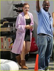 FFN_IMAGE_51156787|FFN_SET_60066954 (fffff2011) Tags: costume chelsea unitedstates robe makeup filmset blackdress brownboots chloegracemoretz