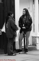 meeting (jayel22) Tags: street girls people white black women candid meeting wells somerset wookey