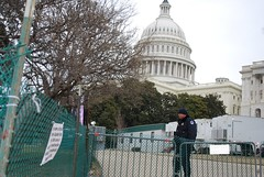Preparations for the inauguration of Barack Obama at the U.S. Capitol in Washington D.C. (gjbarb) Tags: washingtondc dc uscapitol capitol obama capitolhill inauguration
