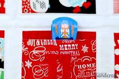 Advent Calendar (Nicole at Modern Handcraft) Tags: christmas holiday holidays advent calendar adventcalendar decorate sewmamasew