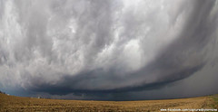 Supercell (Divagirl86) Tags: storm rain clouds illinois cornfield country indiana severe stormchasing severestorms