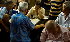 Chinese Chess at Chinatown (Kokkai Ng) Tags: old sleeping people h