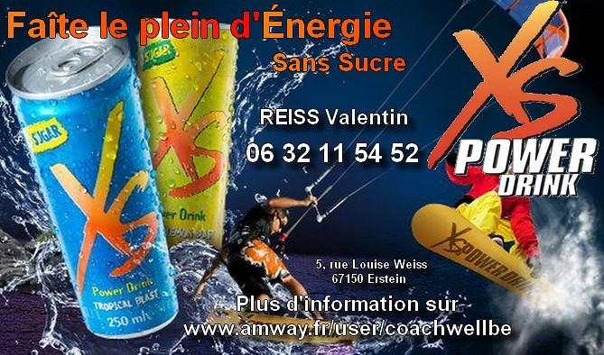 Carte De Visite Xs Amwayglobal Tags Power Drink Beaute Maison