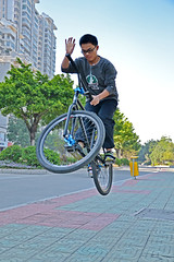 ALL DAY FIXIE BMX (Chackong bikes store) Tags: freestyle fixie fixedgear trick jieyangcity fgfs chackong