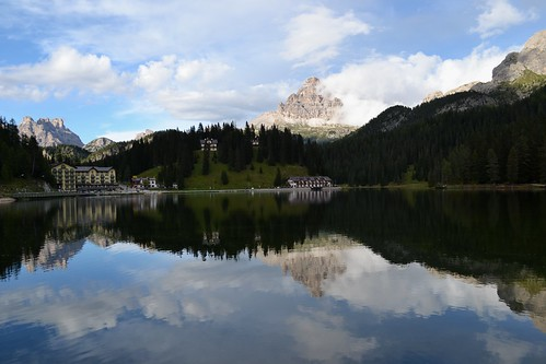 Dolomite Evening Reflection by Jim