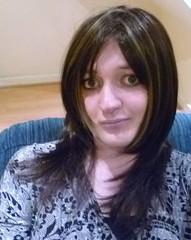 closeup (charlotteyorkscd) Tags: cute sexy tv pretty cd transvestite mascara lipstick brunette crossdresser