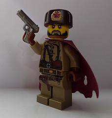 Metro Survivor (enigmabadger) Tags: lego metro fig russia soviet cape minifig custom russian printed minifigure 2033 ushanka brickarms tokarev tt33 mmcb
