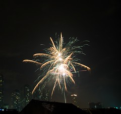 New Year's Eve 2013-2014 (Marvyn Hendrata) Tags: christmas new holiday night work canon indonesia happy fire shot fireworks year firework celebration jakarta works merry api tahun baru 6d kembang 24105l 2013 petasan