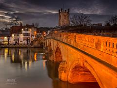 Henley on Thames (Ian R Roy) Tags: bridge england english thames canon landscape riverthames henley oxfordshire riverlandscape 5dmk3