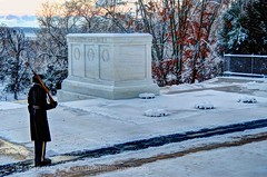 Snow at TUS 3Jan2014 (2) (KLMP) Tags: snow cemetery arlington hall day fort january national henderson base joint myer 2014