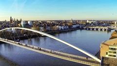 Maastricht,maas, hoge brug, servaesbrug (loungerrob) Tags: maastricht brug maas hoge uploaded:by=flickrmobile flickriosapp:filter=nofilter