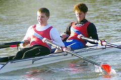 Huntingdon Pair Sculls (MalB) Tags: cambridge pentax cam rowing k5 sculls rowers huntingdon sculling