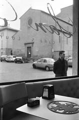 caf lounge (=Gibo=) Tags: bw bar self blackwhite olympus bn developed caff viterbo om1 analogic fomapan lqn selfdeveloping analogicait