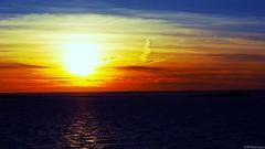 Sunset in Helsinki (ronja_so) Tags: sunset sea sky sun finland