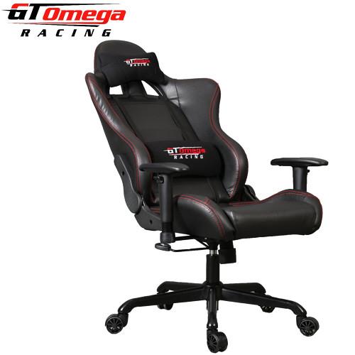 Black leather club chair - Bsimracing