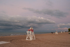 Storm Over the Lake (Jonathan Lurie) Tags: gillson beach park lake michigan clouds evening sand storm summer water waves gillsonbeach gillsonpark lakemichigan wilmette