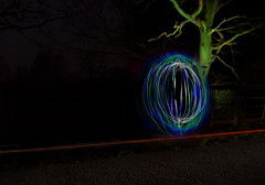 Week 15 ~ Get Pushed. (Yvette-) Tags: lightpainting orb nikond5100