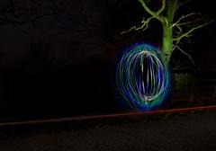 Week 15 ~ Get Pushed. (Yvette-) Tags: lightpainting orb nikond5100