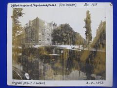 Polaroid (streamer020nl) Tags: bridge amsterdam polaroid 1973 egelantiersgracht lijnbaansgracht brug127 030773