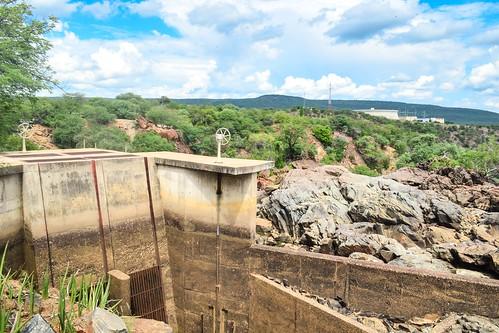 Ruacana hydro power station
