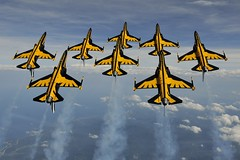T-50B Blackeagles Demo Flight (Korea Aerospace Industries) Tags: korea kr gangwondo wonju t50bblackeagles