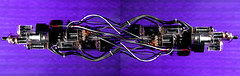 Cathode Beam 2 (Octopodal) Tags: technology purple scifi electronic cyber cyberpunk vacuumtube maxshuster