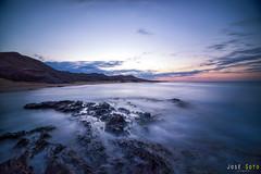 Calblanque Sunrise (3) (Legi.) Tags: longexposure seascape sunrise nikon amanecer cartagena largaexposicin d600 calblanque
