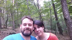 Us in the woods