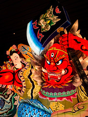 Large Nebutas - Large lantern floats decorated with humans figures (decimal1025) Tags: festival japan museum traditional aomori lantern float nebuta