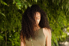 11 July 2015 (jmendozapugal) Tags: friends summer portrait green girl fashion curls curly portraiture blackgirl blackisbeautiful blackgirls