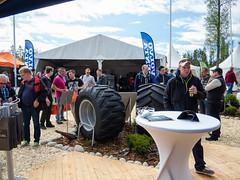 Trelleborg at Skogsnolia forestry exhibition  (6) (TrelleborgAgri) Tags: sweden forestry twin exhibition range pneumatici skidder forestali t414 skogsnolia progressivetraction
