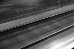 Rails (thomas.drezet) Tags: travel white motion black blur lines contrast point high movement long exposure paint explosion perspective tracks calm rails streaks