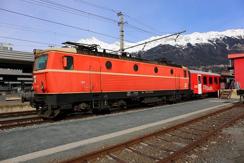 ÖBB 1144 040-3 City-Shuttle, Innsbruck Hbf