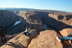Horseshoe 28 (Krasivaya Liza) Tags: horseshoebend horseshoe bend canyon canyons arizona dec 2016 nature natural beauty attraction formation rock rocks stone hills river bends landscape southwest southwestern arid desert
