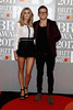 Stacey Solomon and Joe Swash attend The BRIT Awards 2017 at The O2 Arena on February 22, 2017 in London, England. (Photo by John Phillips/Getty Images)