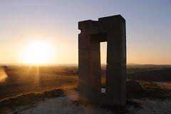 Tramonto senese (saracapa.95) Tags: toscana siena asciano leonina sanleonina castellodileonina tramonto sunset contoluce monumento cretesenesi scatti attimi