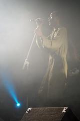 Ranking Roger with long dreads, Morecambe Winter Gardens (Gidzy) Tags: skinhead oi music spiritof69 reggae bootsnbraces dms docs twotone skins punks mods suedehead moody atmospheric smokey liivemusic stage british english morecambe lancashire wintergardens lancaster theatre historic old rankingroger thebeat