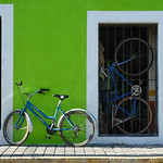 Bicycles, Cholula, Mexico thumbnail