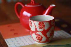 tea time (Leanne@123) Tags: tea teapot red