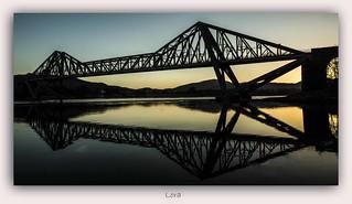 Connell Bridge at Dawn